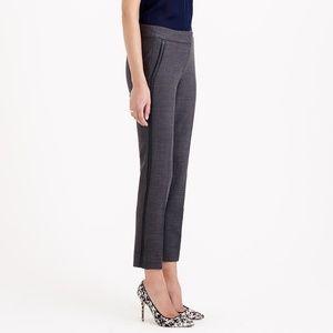 J. Crew Campbell Pants - Grey w/ Tuxedo Stripe